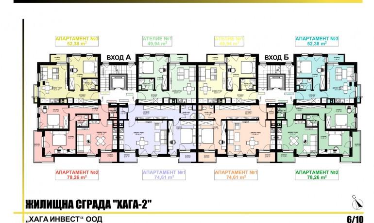 Ап. 2А – Апартамент с 2 спални
