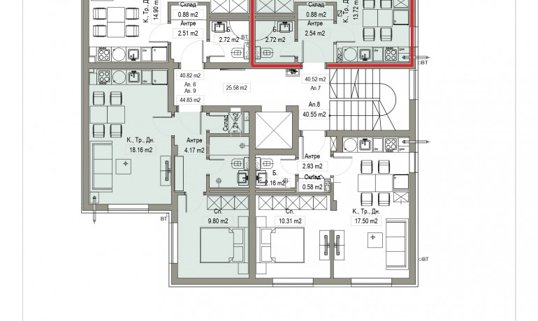 Aп.7 – Апартамент с 1 спалня