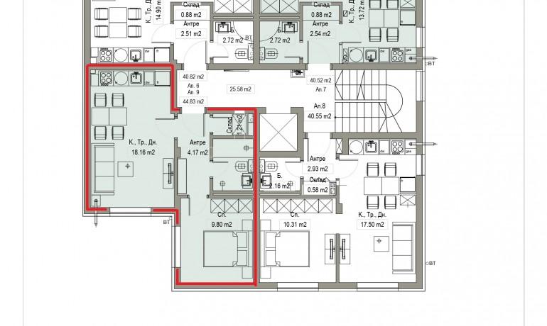 Aп.9 – Апартамент с 1 спалня