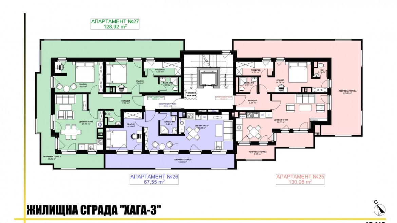 Ап. 25 – апартамент с 1 спалня