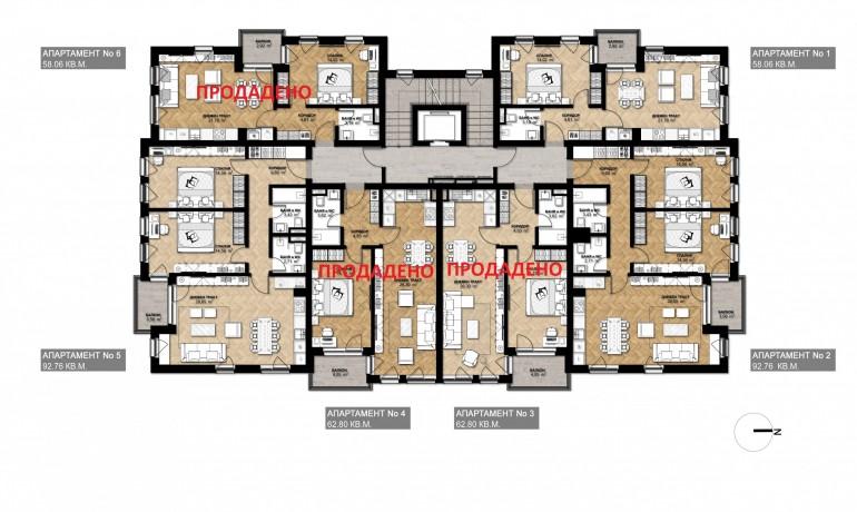 Ап. 5 – апартамент с 2 спални