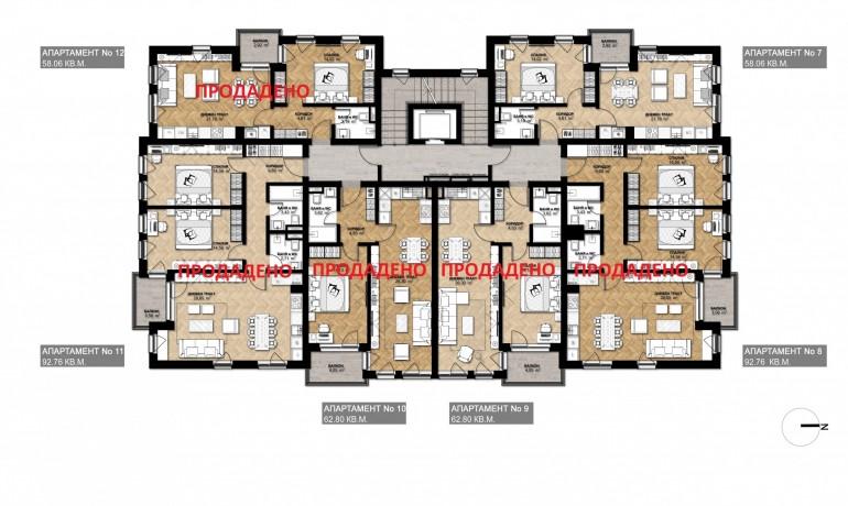 Ап. 7 – апартамент с 1 спалня