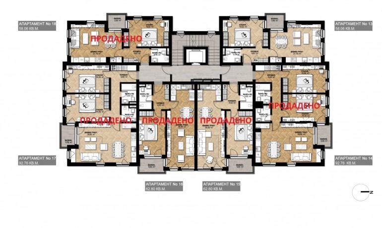 Ап. 18 – апартамент с 1 спалня